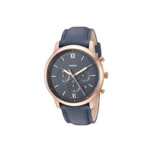 フォッシル Fossil メンズ 腕時計 Neutra Chrono - FS5454 Blue|fermart2-store