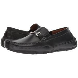クラークス メンズ ローファー シューズ・靴 Ashmont Brace Black Leather|fermart2-store