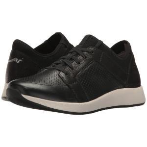 ダンスコ レディース スニーカー シューズ・靴 Cozette Black Nappa|fermart2-store