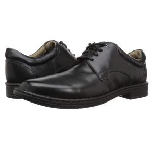 クラークス Clarks メンズ 革靴・ビジネスシューズ シューズ・靴 Gadson Plain Black Leather|fermart2-store