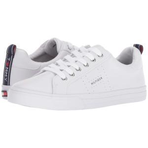 トミー ヒルフィガー Tommy Hilfiger レディース スニーカー シューズ・靴 Lelita White Leather|fermart2-store