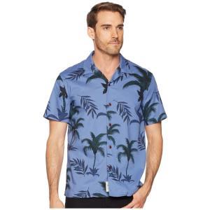 ラッキーブランド Lucky Brand メンズ シャツ トップス Club Collar Shirt Blue Multi|fermart2-store