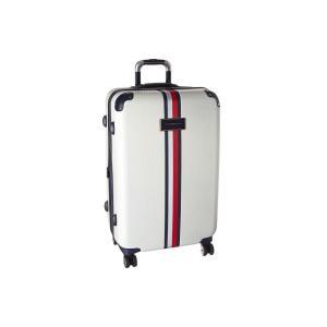 トミー ヒルフィガー Tommy Hilfiger ユニセックス スーツケース・キャリーバッグ バッグ Basketweave 25 Upright Suitcase Cr?me|fermart2-store