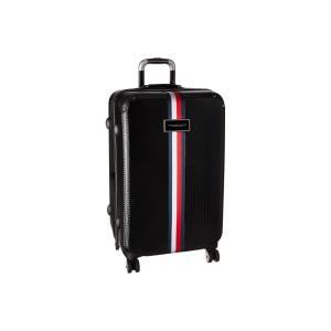 トミー ヒルフィガー Tommy Hilfiger ユニセックス スーツケース・キャリーバッグ バッグ Basketweave 25 Upright Suitcase Black|fermart2-store