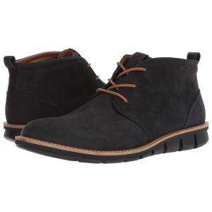 エコー ECCO メンズ ブーツ シューズ・靴 Jeffery Hybrid Boot Black Nubuck Leather fermart2-store