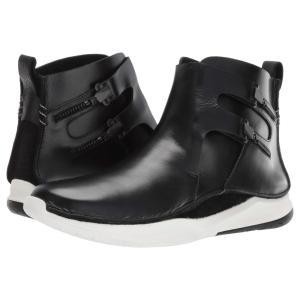 クラークス Clarks メンズ スニーカー シューズ・靴 Privolution M2 Black Leather|fermart2-store