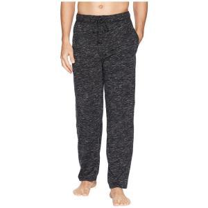 ジョッキー メンズ パジャマ・ボトムのみ インナー・下着 Tiger Heather Knit Sleep Pants Caviar/Bright White|fermart2-store