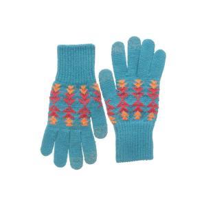 ペンドルトン Pendleton レディース 手袋・グローブ Texting Gloves Tucson Turquoise|fermart2-store