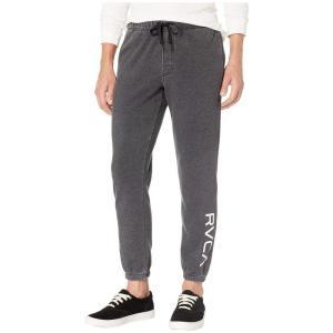 ルーカ RVCA メンズ スウェット・ジャージ ボトムス・パンツ VA Guard Fleece Sweatpants Black fermart2-store