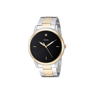 フォッシル Fossil メンズ 腕時計 The Minimalist 3H - FS5458 Gold/Silver|fermart2-store