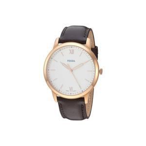 フォッシル Fossil メンズ 腕時計 The Minimalist 3H - FS5463 Brown|fermart2-store