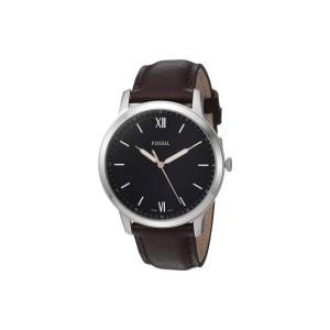 フォッシル Fossil メンズ 腕時計 The Minimalist 3H - FS5464 Brown|fermart2-store