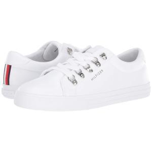 トミー ヒルフィガー Tommy Hilfiger レディース スニーカー シューズ・靴 Linzer White|fermart2-store