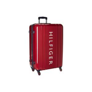 トミー ヒルフィガー Tommy Hilfiger ユニセックス スーツケース・キャリーバッグ バッグ 28 Maryland Hardside Upright Suitcase Red|fermart2-store