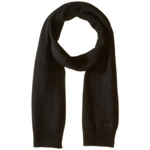 ヒューゴ ボス BOSS Hugo Boss メンズ マフラー・スカーフ・ストール Soft Cotton Blend Scarf Black|fermart2-store