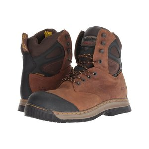 ドクターマーチン Dr. Martens メンズ ブーツ シューズ・靴 Spate Electrical Hazard Waterproof Steel Toe 8-Eye Boot Brown Overlord Waterproof|fermart2-store