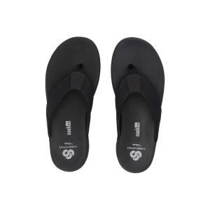 クラークス Clarks メンズ ビーチサンダル シューズ・靴 Step Beat Dune Black Textile|fermart2-store