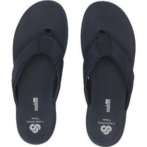 クラークス Clarks メンズ ビーチサンダル シューズ・靴 Step Beat Dune Navy Textile|fermart2-store