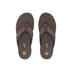クラークス Clarks メンズ ビーチサンダル シューズ・靴 Step Beat Dune Brown Textile|fermart2-store