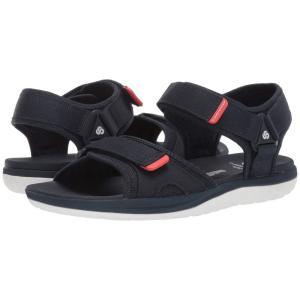 クラークス Clarks メンズ サンダル シューズ・靴 Step Beat Sun Navy Textile|fermart2-store