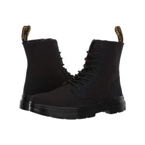 ドクターマーチン Dr. Martens メンズ ブーツ シューズ・靴 Combs II Black/Broder/Canvas|fermart2-store