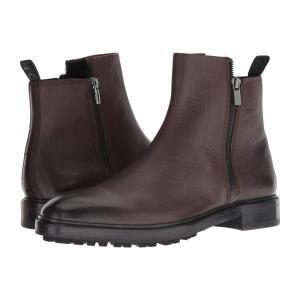 ヒューゴ ボス BOSS Hugo Boss メンズ ブーツ シューズ・靴 Boheme Zip Casual Boot by HUGO Dark Brown|fermart2-store