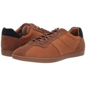 ヒューゴ ボス BOSS Hugo Boss メンズ スニーカー シューズ・靴 Rumba Tennis Sneaker Medium Brown|fermart2-store