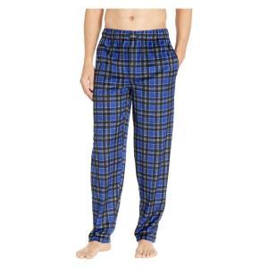 ジョッキー Jockey メンズ パジャマ・ボトムのみ インナー・下着 Silky Fleece Pants Blue|fermart2-store