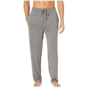 ジョッキー Jockey メンズ パジャマ・ボトムのみ インナー・下着 Cool-Sleep Sueded Jersey Pants Charcoal Heather|fermart2-store