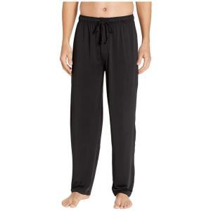 ジョッキー Jockey メンズ パジャマ・ボトムのみ インナー・下着 Cool-Sleep Sueded Jersey Pants Black|fermart2-store