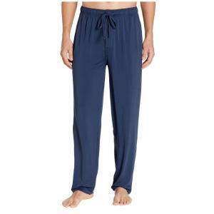 ジョッキー Jockey メンズ パジャマ・ボトムのみ インナー・下着 Cool-Sleep Sueded Jersey Pants Navy|fermart2-store