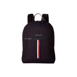 トミー ヒルフィガー Tommy Hilfiger レディース バックパック・リュック バッグ Flag Corporate Canvas Backpack Navy|fermart2-store