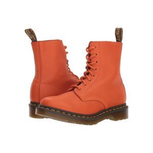 ドクターマーチン Dr. Martens レディース ブーツ シューズ・靴 1460 Pascal Virginia Burnt Orange Virginia|fermart2-store