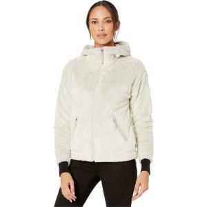 ザ ノースフェイス The North Face レディース フリース トップス Furry Fleece Hoodie Vintage White/Dove Grey fermart2-store
