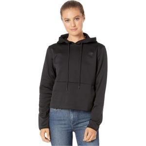 ニューバランス New Balance レディース パーカー トップス relentless fleece hoodie Black|fermart2-store