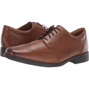 クラークス Clarks メンズ 革靴・ビジネスシューズ シューズ・靴 Tilden Wing Dark Tan Leather|fermart2-store