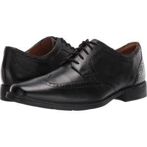 クラークス Clarks メンズ 革靴・ビジネスシューズ シューズ・靴 Tilden Wing Black Leather|fermart2-store