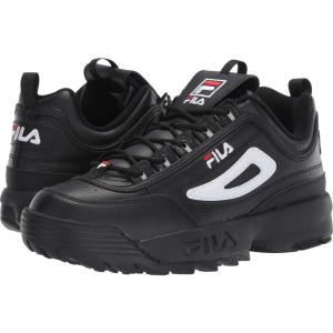 フィラ Fila メンズ スニーカー シューズ・靴 Disruptor II Premium Black/White/Fila Red|fermart2-store