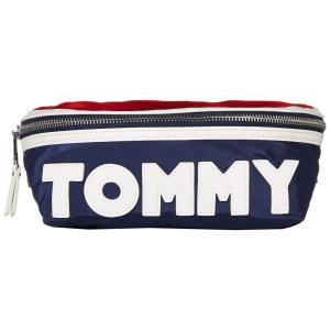 トミー ヒルフィガー Tommy Hilfiger ユニセックス ボディバッグ・ウエストポーチ バッグ Tommy Nylon Body Bag Navy/Red/White|fermart2-store