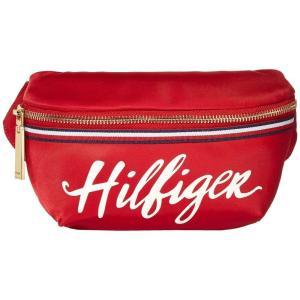 トミー ヒルフィガー Tommy Hilfiger ユニセックス ボディバッグ・ウエストポーチ バッグ Sirina Belt Bag Red|fermart2-store