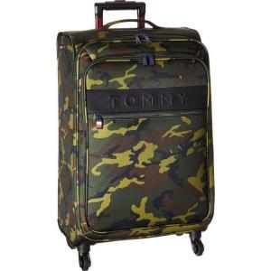 トミー ヒルフィガー Tommy Hilfiger ユニセックス スーツケース・キャリーバッグ バッグ 24 Network XL Softside Upright Olive Camo|fermart2-store