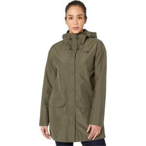 ザ ノースフェイス The North Face レディース レインコート アウター Woodmont Rain Jacket New Taupe Green fermart2-store