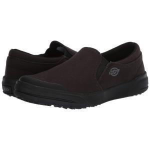 ディッキーズ Dickies メンズ スリッポン・フラット シューズ・靴 Supa Dupa Slip Sf Eh Sr Blackout|fermart2-store