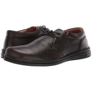 ビルケンシュトック Birkenstock メンズ 革靴・ビジネスシューズ シューズ・靴 Memphis Black/Brown|fermart2-store