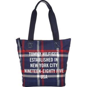 トミー ヒルフィガー Tommy Hilfiger レディース トートバッグ バッグ Bennett Tote Navy/Multi|fermart2-store