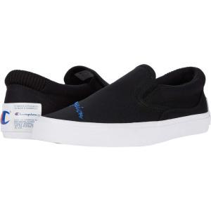 チャンピオン Champion メンズ スリッポン・フラット シューズ・靴 Fringe Slip-On Black|fermart2-store