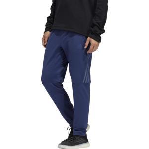 アディダス adidas メンズ ボトムス・パンツ Aero 3-Stripes Cold Weather Knit Pants Indigo|fermart2-store