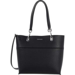 カルバンクライン Calvin Klein レディース トートバッグ バッグ Novelty North/South Reversible Tote Black/Grigio fermart2-store