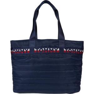 トミー ヒルフィガー Tommy Hilfiger レディース トートバッグ バッグ Rebecca II Tote Quilted Nylon Tommy Navy|fermart2-store