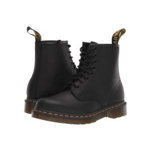 ドクターマーチン Dr. Martens レディース ブーツ シューズ・靴 1460 Black Greasy|fermart2-store